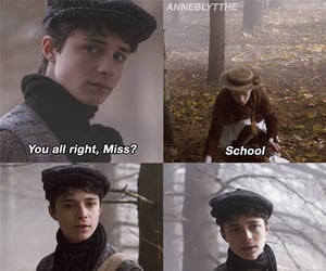 anne, anne shirley, and gilbert blythe image