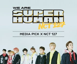 k-pop, nct wallpaper, and we are superhuman image