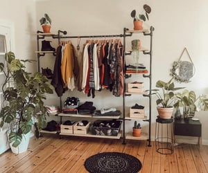 aesthetic, home, and closet image