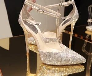 Balenciaga, diamonds, and heels image