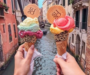 ice cream and italy image