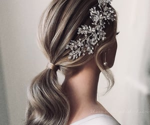 crown, fashion, and hairstyle image