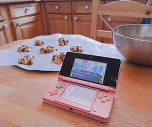 aesthetic, animal crossing, and baking image