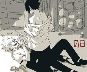 gay, yaoi, and naruto x sasuke image