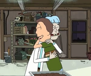 Jerry, rick and morty, and doofus rick image