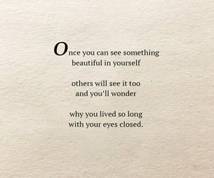 beautiful, loveyourself, and inspiration image