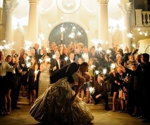 wedding, love, and groom image