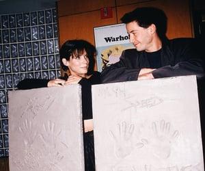 90s, keanu reeves, and sandra bullock image