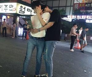 korean, asian, and gay image