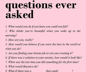 be yourself, questions, and self awareness image