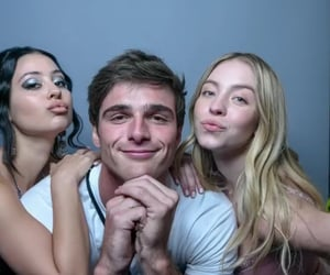 alexa demie, sydney sweeney, and jacob elordi image