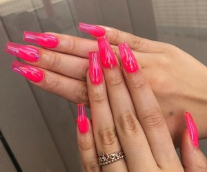 acrylics, fashion, and manicure image