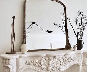 decor, interior, and mirror image