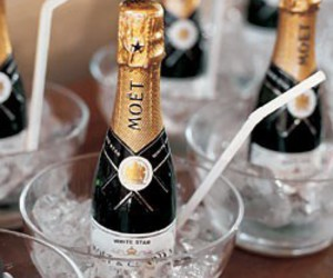 champagne, wedding, and moet image