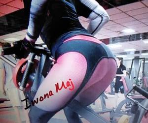 fitness, leggins, and iwona maj image