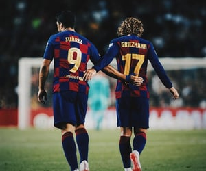 Barca, football, and soccer image
