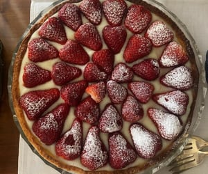 strawberry, food, and tasty image