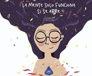 mente, frases español, and reflexión image