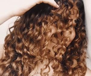 attitude, brown hair, and curls image