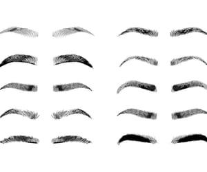 aesthetic, brow, and eye image
