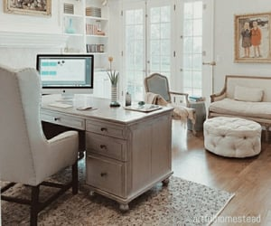aesthetic, office, and room image