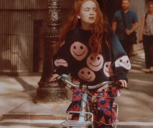 sadie sink, fashion, and stranger things image