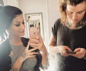 asking alexandria, aa family, and ben bruce image