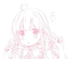 aesthetic, waifu, and anime image