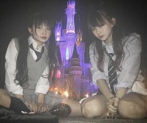 girl, ladybaby, and 黒宮れい image
