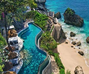 travel, summer, and bali image