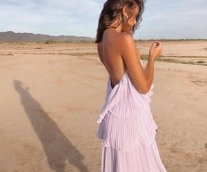 beach, blogger, and dress image
