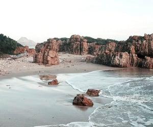 beach, nature, and travel image