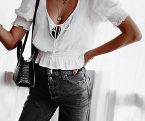 fashion, black jeans, and inspiration image