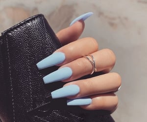 tumblr inspiration, nails goals, and fashion image