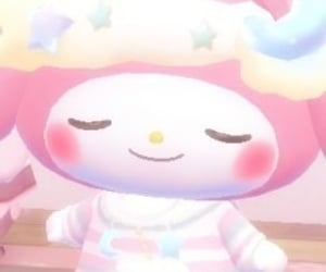 my melody, sanrio, and aesthetic image