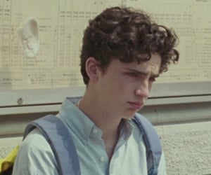 timothee chalamet, call me by your name, and elio image