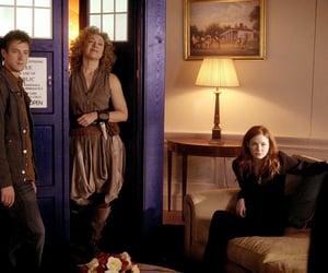 doctor who, karen gillan, and amy pond image