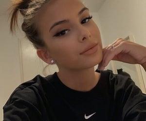 girl, beauty, and nike image