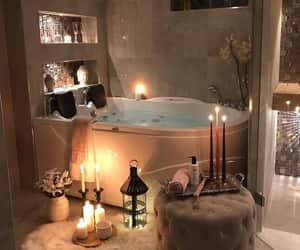 home, luxury, and bathroom image