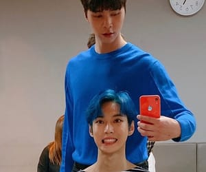 nct, johnny, and doyoung image