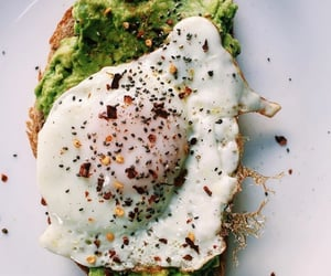 avocado, breakfast, and delights image