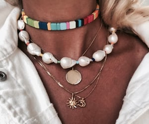fashion, jewels, and necklaces image