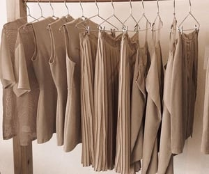 clothes, aesthetic, and beige image