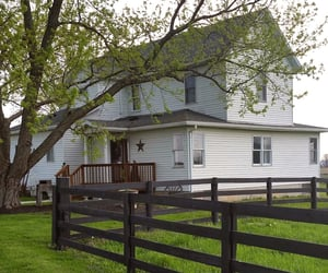 country living, home, and house image