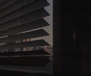 aesthetic, black, and window image