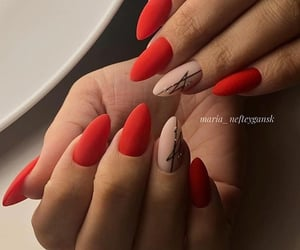 matte, nail, and nail art image