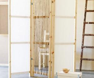 madeira, tecido, and corda image