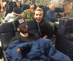 Marvel, chris evans, and Scarlett Johansson image
