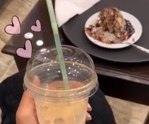 coffee, starbucks, and straw image