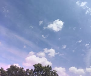 blue, blue sky, and bright image